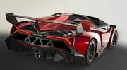 Lamborghini Veneno Roadster 2013 : premières photos officielles