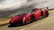Lamborghini Veneno Roadster : La frime absolue !