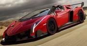 Lamborghini Veneno Roadster : 3,3 millions d'euros et neuf exemplaires
