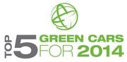 Green Car of the Year 2014 : 2 diesel dans les 5 finalistes
