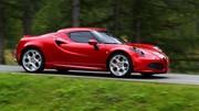 Alfa Romeo 4C : chrono de 8 minutes 04 au Nürburgring