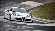 Alfa Romeo 4C : 8'04 sur le Nürburgring