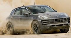 Le Porsche Macan en essai presque sans camouflage