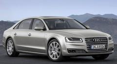 Audi dévoile les tarifs de l'A8 restylée