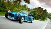 Caterham Seven 160 : Petit moteur, petit prix et petit poids