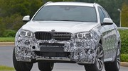 Le futur BMW X6 en balade