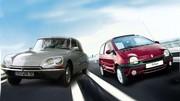 Les Allemands placent la Citroën DS et la Renault Twingo dans les 7 meilleures voitures