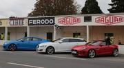 Essai Jaguar F-Type, XFR-S et XF Sportbrake sur le circuit des Ecuyers