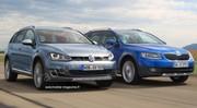 Volkswagen Golf Alltrack contre Skoda Octavia Scout : L'aventure pour tous