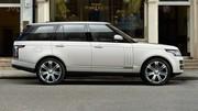 Range Rover : une nouvelle version rallongée de 14 cm