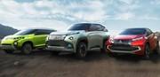 Tokyo 2013 : Mitsubishi frappe fort avec 3 concepts