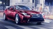 Lexus RC : nouveau coupé