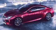Lexus RC : une IS coupé