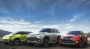 GC-PHEV ; XR-PHEV et AR, 3 concepts Mitsubishi hybrides
