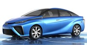 La Toyota FCV Concept, la première voiture à PAC à l'hydrogène de grande série