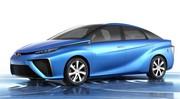 Toyota dévoile les premières photos du concept FCV