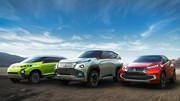 Mitsubishi présente ses trois concepts