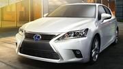 La CT 200h adopte la nouvelle calandre Lexus