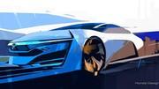 Honda FCEV Concept : premier teaser