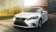 Lexus CT 200h : des changements mais pas trop