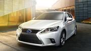 Lexus offre un nouveau visage à la CT200h