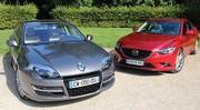 Essai Mazda6 vs Renault Laguna : Philosophie familiale