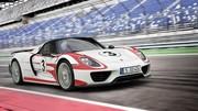 Porsche 918 Spyder : les performances officielles