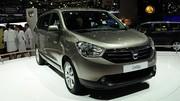 Dacia Lodgy : réorganisation de la gamme