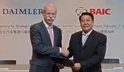 Daimler va prendre 12% du constructeur chinois BAIC