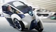 Toyota iRoad : enfantin et amusant à piloter !