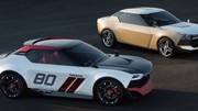 Les Nissan IDx Freeflow et IDx Nismo se piquent de rétrofuturisme