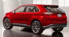 Ford Edge Concept : pour l'Europe aussi