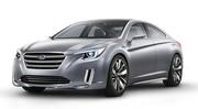 Subaru Legacy Concept : Un coupé 4 portes pour les 25 ans de la Legacy