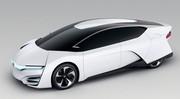 Honda FCEV : une pile à combustible plus efficace