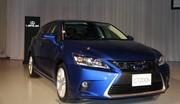 Lexus CT 200h 2014 : les photos de la version restylée au salon de Tokyo