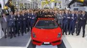 La dernière Lamborghini Gallardo