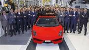 Lamborghini Gallardo : production du dernier modèle