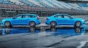 Volvo officialise les V60 et S60 Polestar