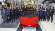 Lamborghini Gallardo : fin de la production