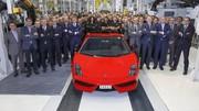 Clap de fin pour la Lamborghini Gallardo