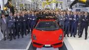 La Lamborghini Gallardo tire sa révérence après 10 ans de carrière