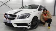 """Essai Mercedes A45 AMG par Soheil Ayari : """"Très (trop) joueuse """""""