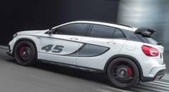 Mercedes GLA 45 AMG Concept : Toutes voiles dehors !
