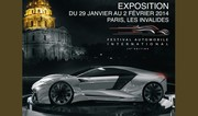 Les concept-cars de retour au dôme des Invalides début janvier