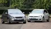 Essai Peugeot 308 vs Volkswagen Golf : Invasion outre-Rhin