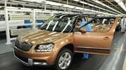 Skoda Yeti : Démarrage de la production en Chine