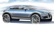 Audi Allroad Coupé Detroit 2014 : Étiquette trompeuse