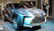 Lexus LF-NX Concept : attendu de série à Genève