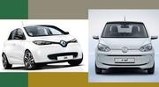Comparatif électrique : Renault Zoé & Volkswagen e-up!