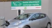 Nissan inangure sa première borne de recharge rapide à Paris
